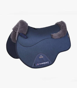 Premier Equine Close Contact Airtechnology Shockproof Wool European Saddle Pad - GP/Jump Square