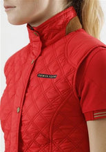Load image into Gallery viewer, Premier Equine red casual riding vest. Brand new! - Robyn's Tack Room