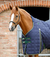 Load image into Gallery viewer, Premier Equine Lucanta 450g Stable Rug with Neck Cover