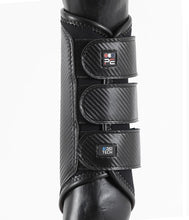 Load image into Gallery viewer, Premier Equine Carbon Air-Tech Double Locking Brushing Boots - Robyn's Tack Room
