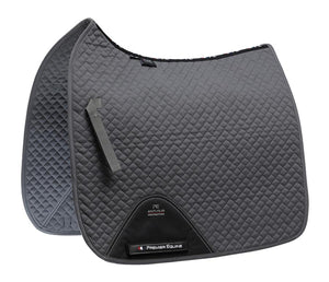 Premier Equine Cotton Saddle Pad - Dressage Square - Robyn's Tack Room