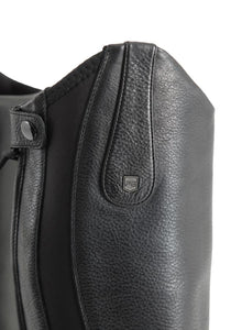 Premier Equine Fendari Ladies Long Leather Dress Riding Boots (Black)