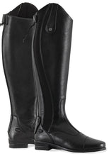 Load image into Gallery viewer, Premier Equine Fendari Ladies Long Leather Dress Riding Boots (Black)