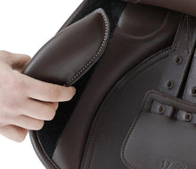 Load image into Gallery viewer, Premier Equine Prideaux Synthetic Close Contact Jump Saddle