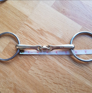 Neue Schule Tranz Angled Lozenge Loose Ring bit - Robyn's Tack Room