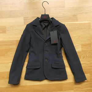 Cavalleria Toscana navy show jacket, girls age 8, brand new