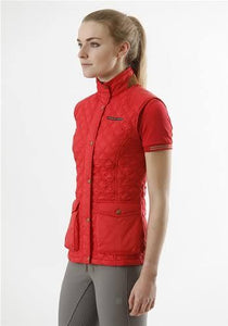 Premier Equine red casual riding vest. Brand new! - Robyn's Tack Room
