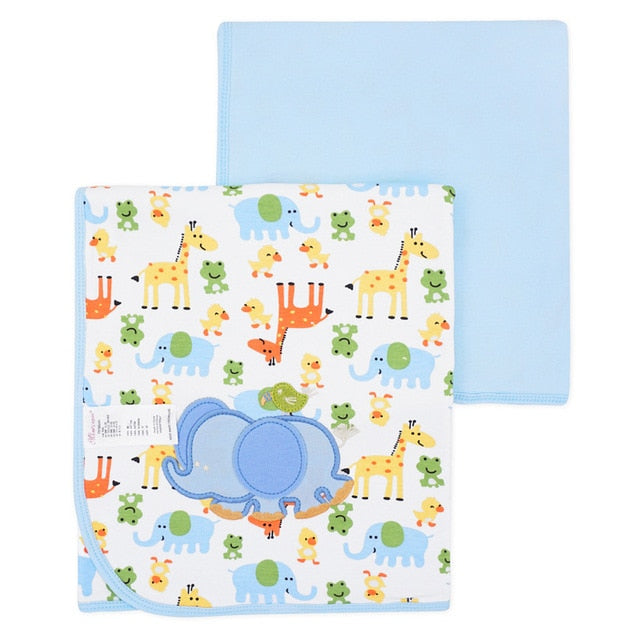 Stroller Friend: Double Layer Envelope Baby Blanket - Baby blankets with ♡