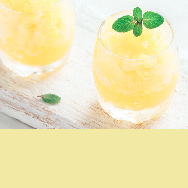 Senses Lemon Granita