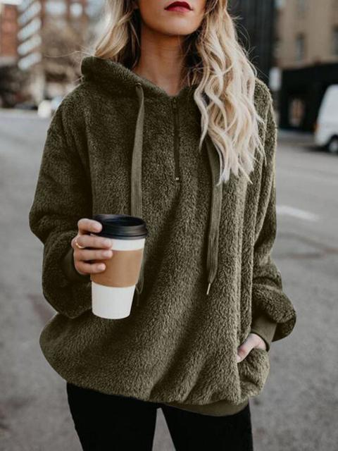 Thick Round Neck Pullover Sweater