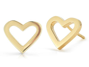 Roberto Coin Heart Earrings