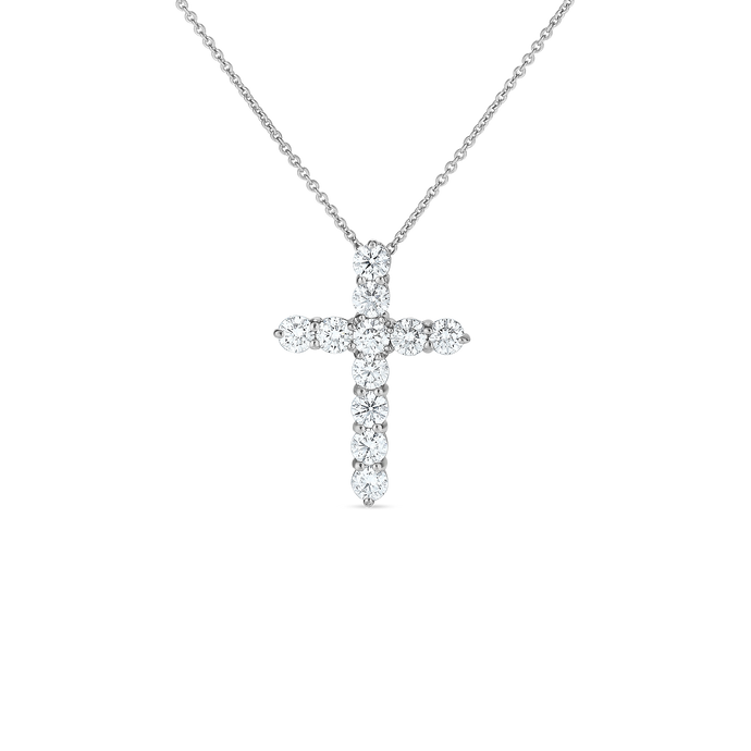 Roberto Coin Large Cross Pendant