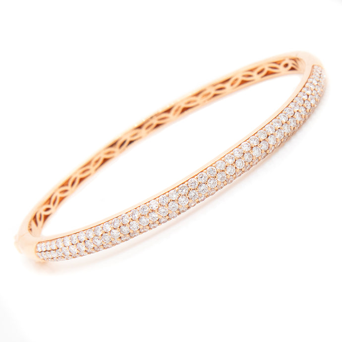 1.91ct Pave Diamond Bangle