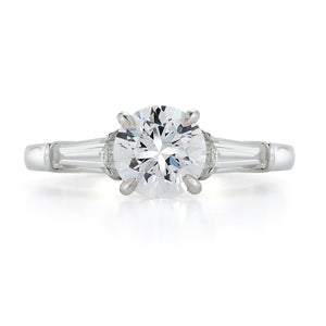Signature Baguette Diamond Engagement Ring