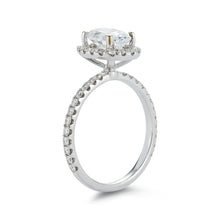 "Load image into Gallery viewer, Signature ""Madison"" Pave Diamond Engagement Ring"