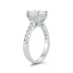 Signature Pave Diamond Engagement Ring