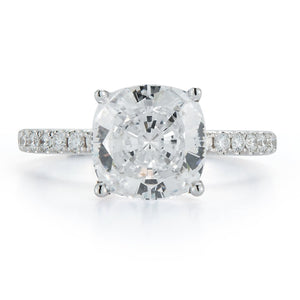 "Signature ""Avery"" Pave Diamond Engagement Ring"