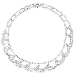 Estate Diamond Necklace- 30cts