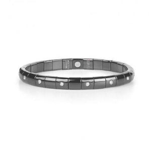 Black Ceramic Diamond Bracelet