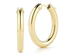 Roberto Coin Oval Hoops
