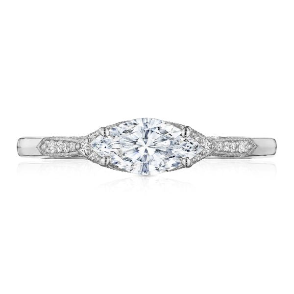 Tacori Horizontal Diamond Engagement Ring