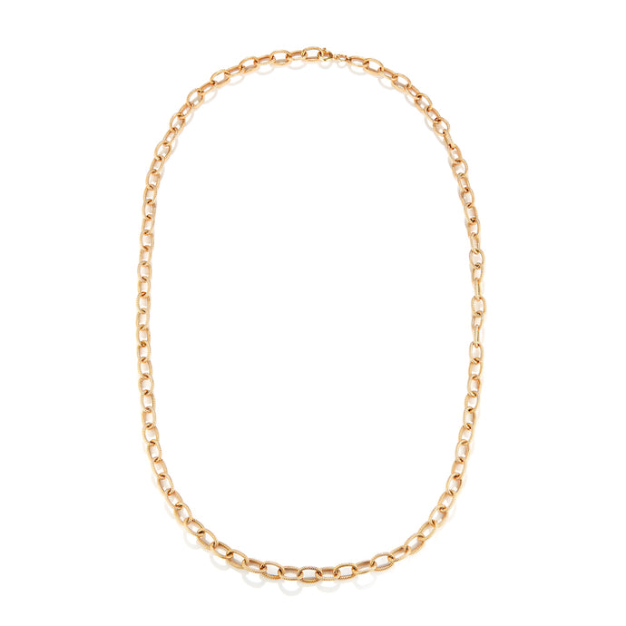 Estate 14k Yellow Gold Link Chain-24