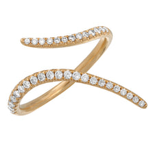 Load image into Gallery viewer, 14k Yellow Gold Diamond Ring