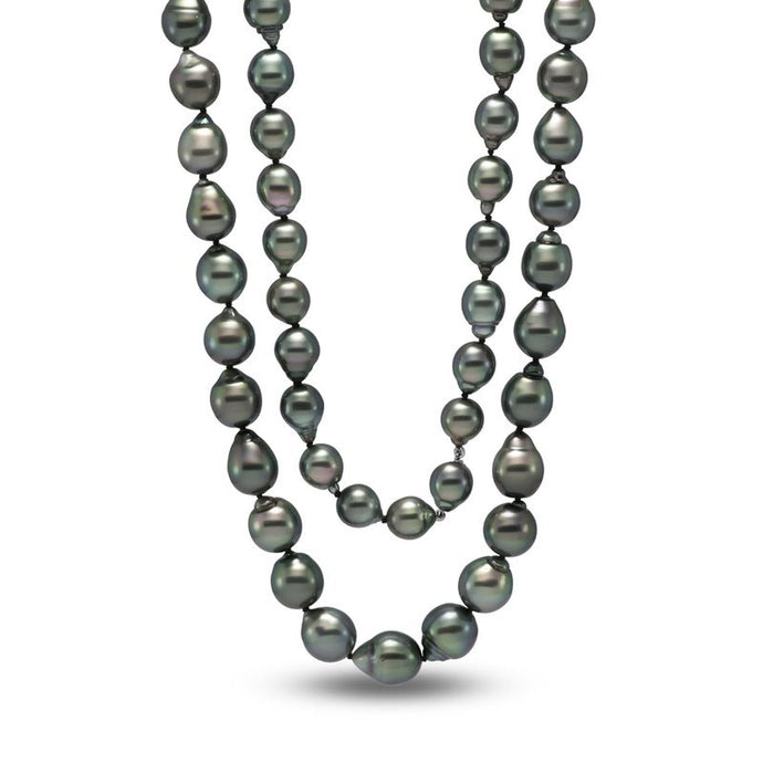 8.5-9mm Tahitian Pearl Necklace- 34
