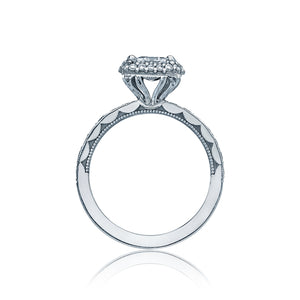 Tacori Double Halo Diamond Engagement Ring