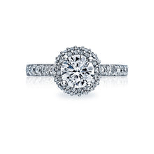 Load image into Gallery viewer, Tacori Double Row Halo Diamond Engagement Ring