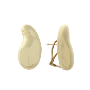 Estate 18k Yellow Gold Earrings