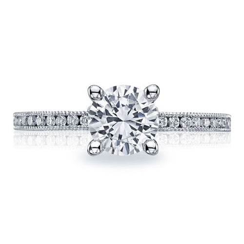 Tacori Channel-Set Diamond Engagement Ring