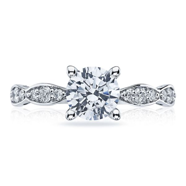 Tacori Marquise Shaped Diamond Engagement Ring