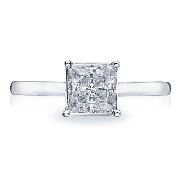Tacori Princess Cut Solitaire Diamond Engagement Ring