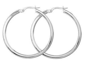 Roberto Coin Medium Hoops