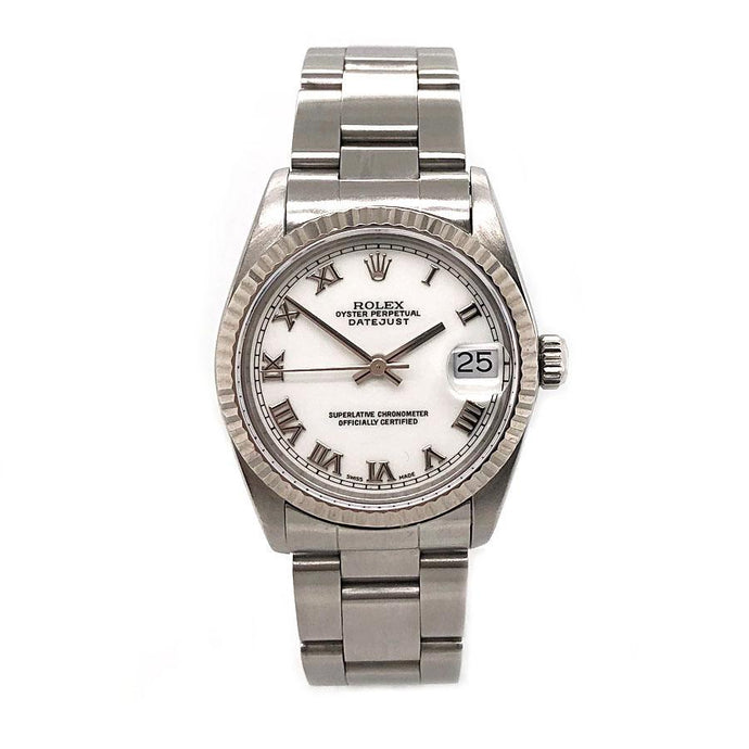 PRE-OWNED ROLEX 31MM DATEJUST IN STAINLESS STEEL