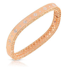 Load image into Gallery viewer, Roberto Coin 18k Yellow Gold Diamond Bangle