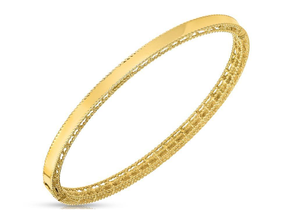 Roberto Coin Princess Oval Bangle
