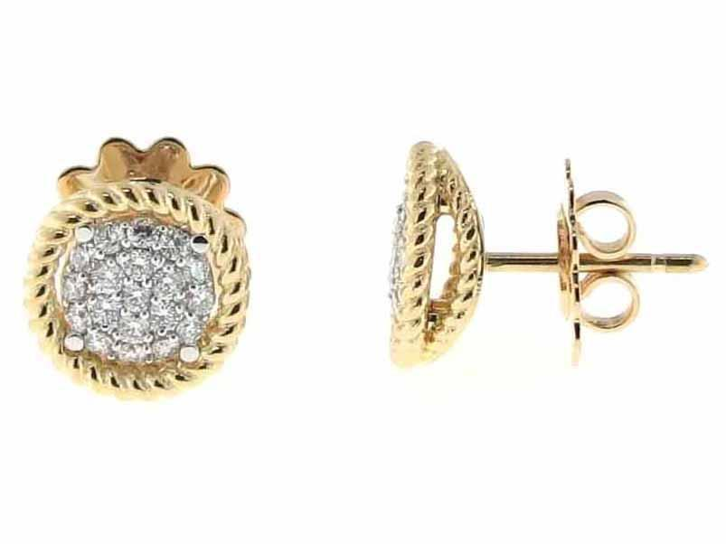 Roberto Coin Stud Earring with Diamonds