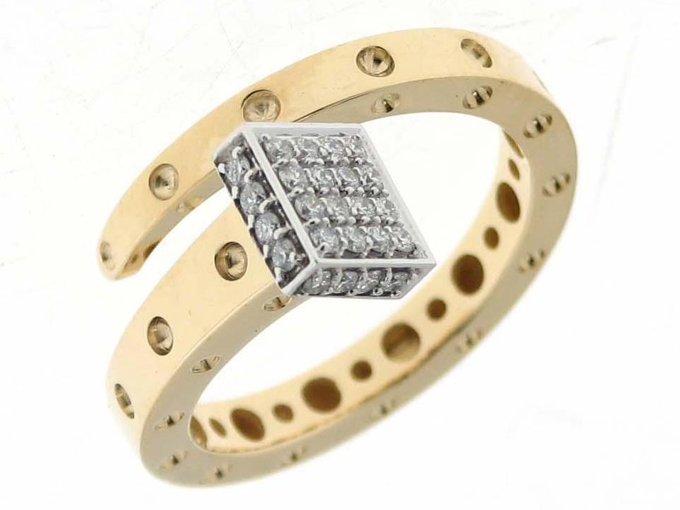 Roberto Coin Small Chiodo Ring with Diamonds