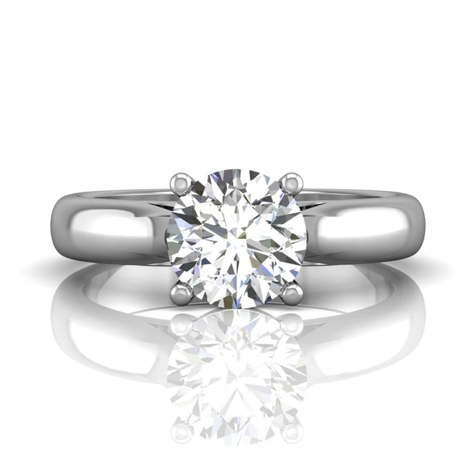 Martin Flyer Solitaire Engagement Ring