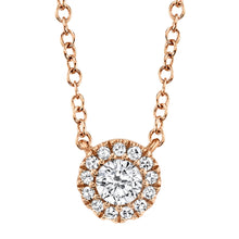Load image into Gallery viewer, 14k Yellow Gold Diamond Pendant