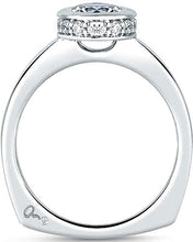 Load image into Gallery viewer, A.Jaffe Bezel Set Diamond Engagement Ring