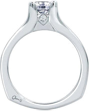 Load image into Gallery viewer, A.Jaffe Channel Set Diamond Engagement Ring