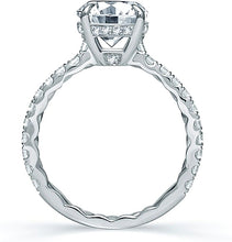 Load image into Gallery viewer, A.Jaffe French Pave Diamond Engagement Ring