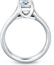 A.Jaffe French Solitaire Diamond Engagement Ring