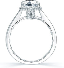 Load image into Gallery viewer, A.Jaffe Micro-Pave Halo Diamond Engagement Ring