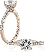 A.Jaffe Pave Diamond Engagement Ring Setting