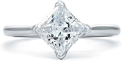 A.Jaffe Solitaire Diamond Engagement Ring
