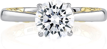 A.Jaffe Two Solitaire Engagement Ring